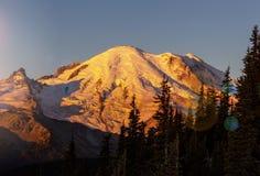 Mt ненастно стоковое фото