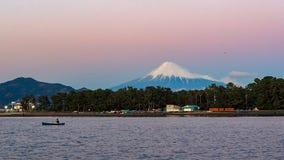 Mt Фудзи от Shizuoka, Японии стоковое изображение