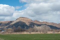 Mt.加菲尔德 库存图片
