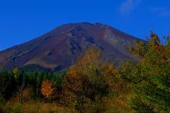 Mt 富士山在秋天 库存照片