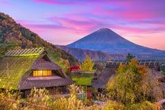 Mt 富士日本 免版税库存图片