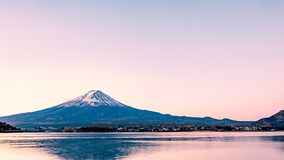 Mt 富士早晨 免版税图库摄影