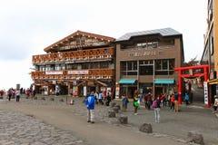 Mt 富士第5个驻地 库存图片