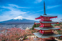 Mt 富士 库存照片