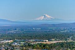 Mt.敞篷和弯,俄勒冈 免版税库存照片