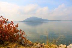 Mt 从湖的斯科特 库存图片