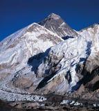 Mt 珠穆琅玛 库存照片