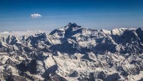 Mt 珠穆琅玛 免版税库存照片