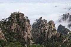 Mt.黄山 图库摄影