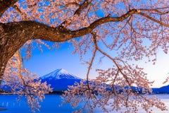 Mt Años Nuevos japoneses de diseño de tarjeta Fotografía de archivo