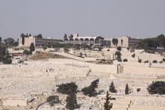 Mt. Aceitunas, Jerusalén, Israel Foto de archivo libre de regalías