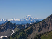 Mt Adams. From Crystal Mountain, USA Stock Image