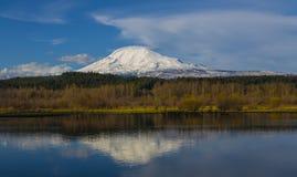 Mt Adams na mola Foto de Stock