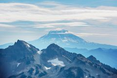 Mt Adams. Mt. Adams in Washington State, USA royalty free stock photo