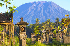 Mt. Agung, Amed, Bali. Royalty Free Stock Image