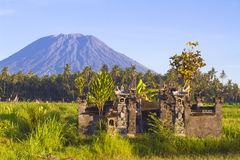 Mt. Agung, Amed, Bali. Stock Image