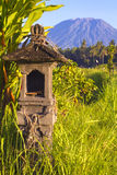 Mt. Agung, Amed, Bali. Royalty Free Stock Photo