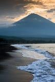 Mt. Agung, Bali. Stock Image