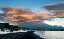 Mt. Agung, Bali, Indonesia Stock Photography