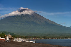 Mt. Agung, Bali, Indonesia Royalty Free Stock Images