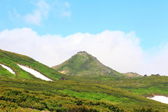 Mt.Akadake, Daisetsuzan National Park Royalty Free Stock Image