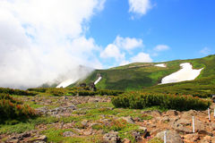 Mt.Akadake, Daisetsuzan National Park Stock Photography