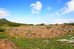 Mt.Akadake, Daisetsuzan National Park Stock Photo