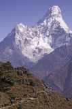Mt. Ama Dablam Royalty Free Stock Photography