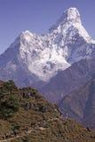 Mt. Ama Dablam Royalty-vrije Stock Fotografie