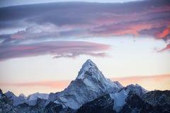 Mt Ama Dablam Obrazy Stock