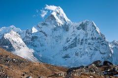 Mt Ama Dablam Dingboche, Solu Khumbu, Nepal Royaltyfri Fotografi