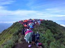 Mt Andong Arkivbilder