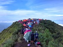 Mt.Andong. Go mountain for best feels Stock Images