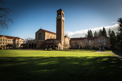 Mt Angel Abbey. The Mt. Angel Abbey near Silverton Oregon Royalty Free Stock Photography