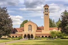 Mt Angel Abbey und Boden Oregon Stockfoto