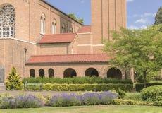 Mt Angel Abbey und Boden Oregon Lizenzfreie Stockfotografie