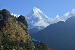 Mt annapurna Lizenzfreie Stockfotos
