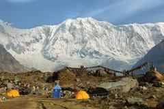 Mt Annapurna mim em Nepal Fotografia de Stock Royalty Free