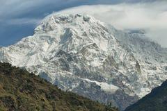 Mt Annapurna południe w Nepal obraz royalty free