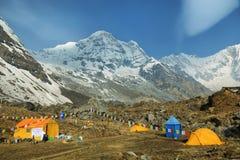 Mt Annapurna sul em Nepal Imagem de Stock