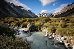 Mt Aoraki (Mt Cuoco), la Nuova Zelanda Immagini Stock