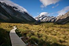 MT Aoraki (MT Kook), Nieuw Zeeland royalty-vrije stock foto's
