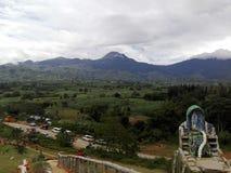 Mt Apo菲律宾 免版税库存照片