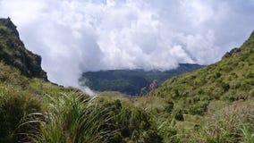 Mt Apo Royaltyfri Fotografi