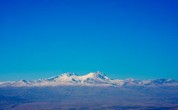 Mt. Aragats in Armenia. In Autumn Royalty Free Stock Photos