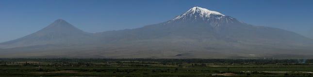 Mt. Ararat. Amazing Panoramic Shot  of Mountain Ararat Royalty Free Stock Image