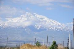 MT Ararat, Turkije Royalty-vrije Stock Afbeeldingen