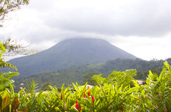 Mt. Arenal Volcano in Costa Rica Royalty Free Stock Photos