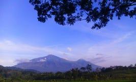 Mt Arjuno Malang East Java fotografia stock