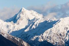 Mt.Arrowsmith Nya Zeeland Arkivbilder
